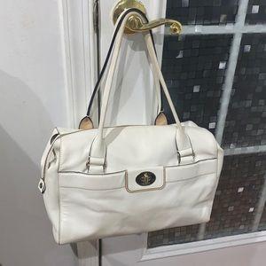 ♠️ Kate spade xl white leather satchel bag ♠️